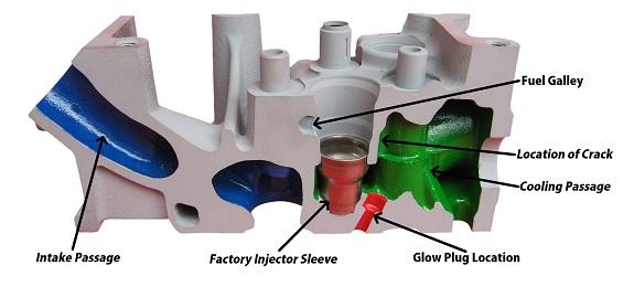 6 0L Powerstroke Cylinder Head Repair Kit