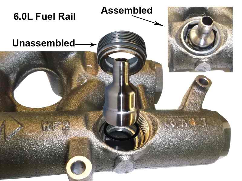 6.0L Oil Rail
